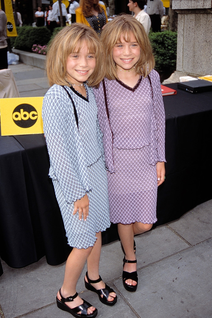 Mary Kate and Ashley Olsen, 90s Platforms