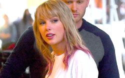 Taylor Swift, celebrity style, pink hair,