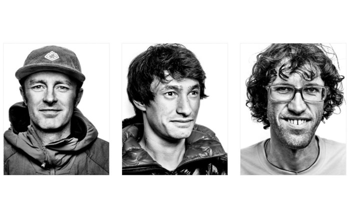 Jess Roskelley, David Lama and Hansjörg Auer - The North Face alpinists