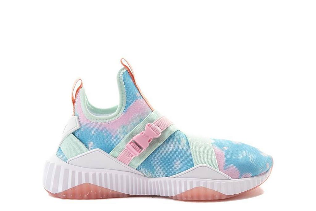 Puma, tie dye shoe, spring 2019 trends, festival style
