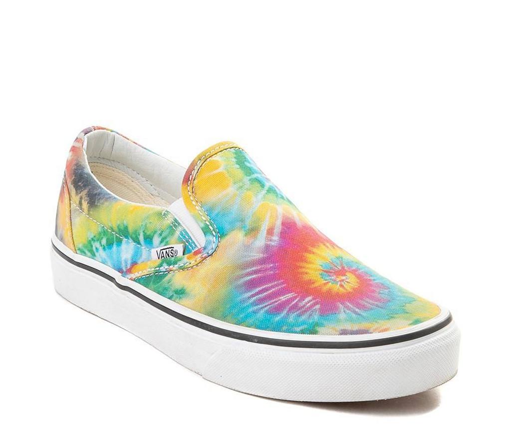 Vans Slip On Tie Dye Skate Shoe, spring 2019 trends, festival season style