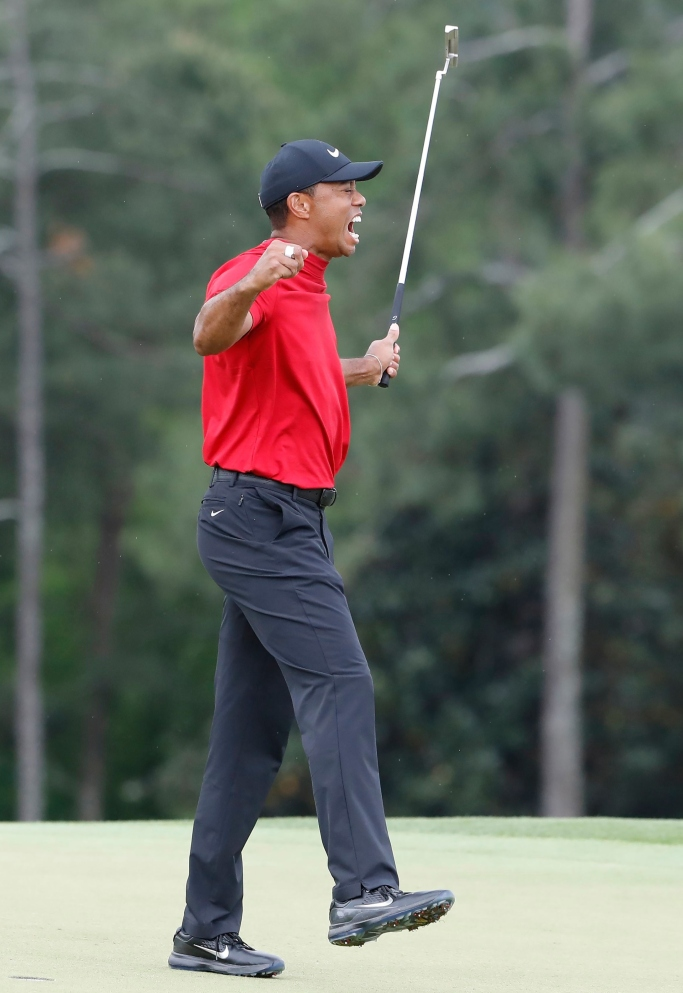 tiger woods, masters, nike