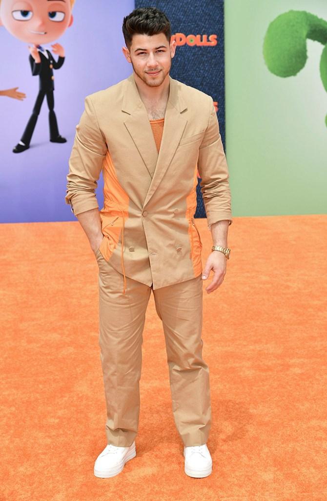 Nick Jonas'UglyDolls' film premiere, Arrivals, Regal Cinemas, Los Angles, USA - 27 Apr 2019