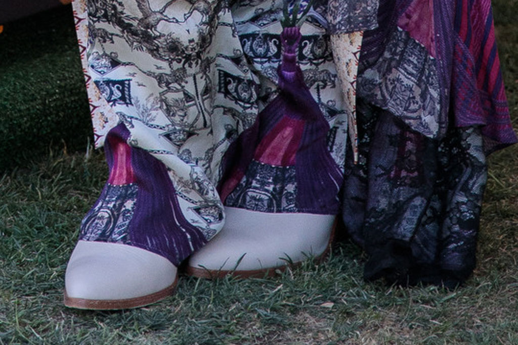 vanessa hudgens, boots, frye, coachella, camilla dress, amazon lockers, 2019