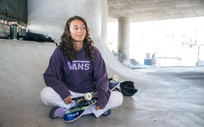 Universidad letal cosa  Vans x Lizzie Armanto Collection: Women's Skateboarder Shoes Go Purple –  Footwear News