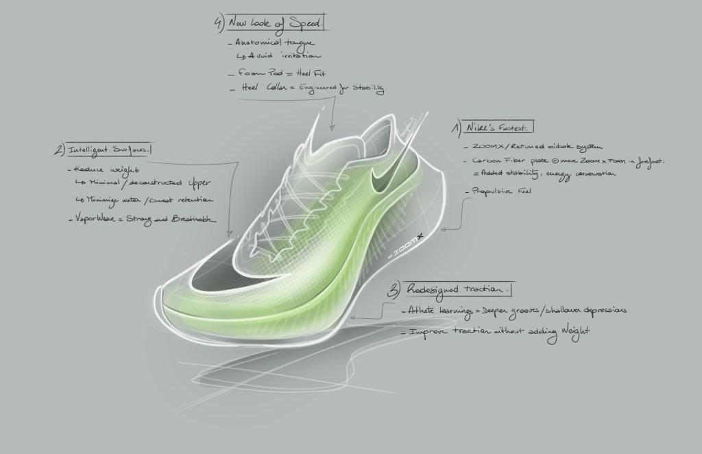 Nike ZoomX VaporFly Next% Sketch