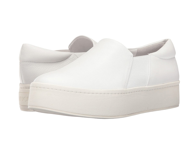 vince warren, best white sneakers with dresses