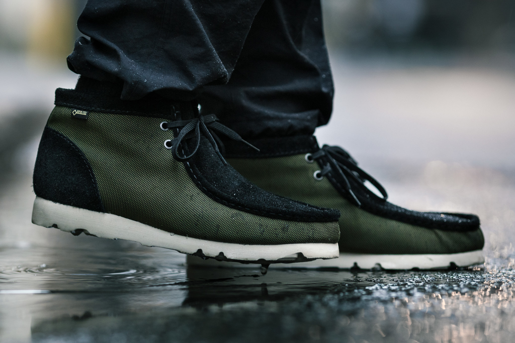 Clarks Originals Gore-Tex Ballistic Wallabee