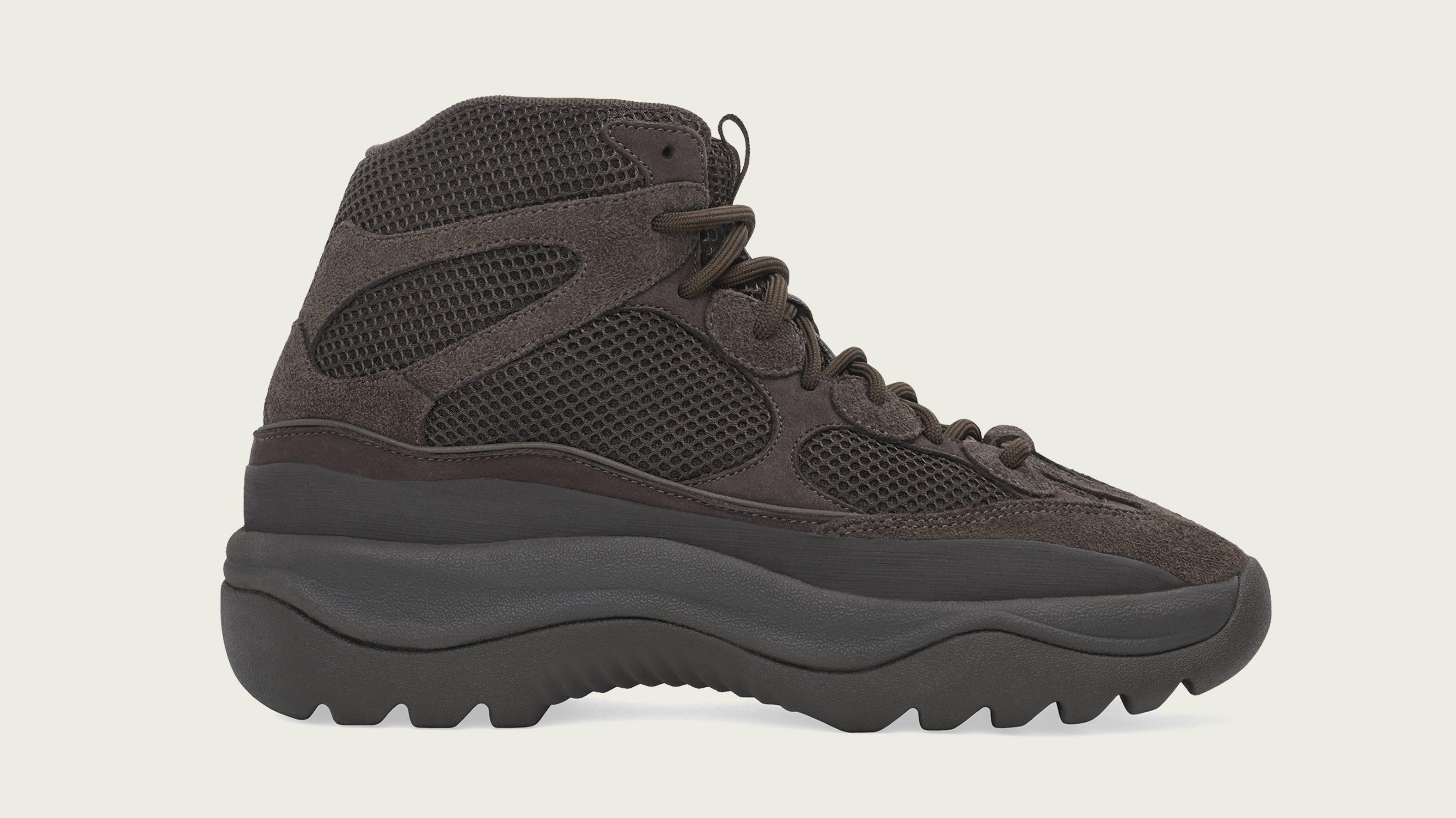 Yeezy Desert Boot 'Oil' Release Info