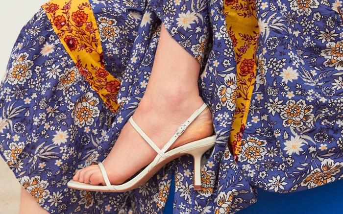 zara, sandals, most popular shoe 2019, midi heel