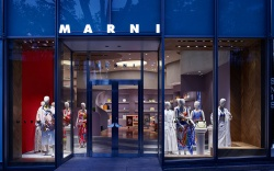 Marni's first flagship store in Tokyo.