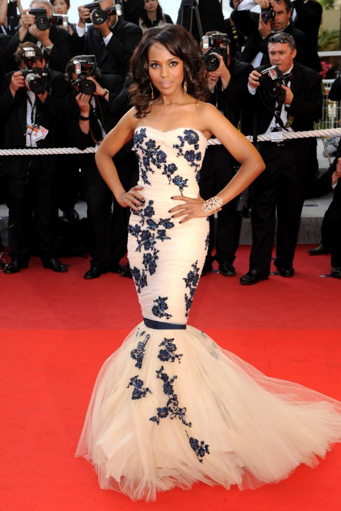kerry washington, zuhair murad, cannes film festival 2009