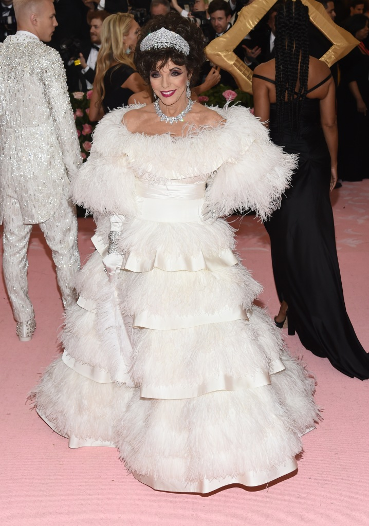 joan, collins, met, gala, 2019