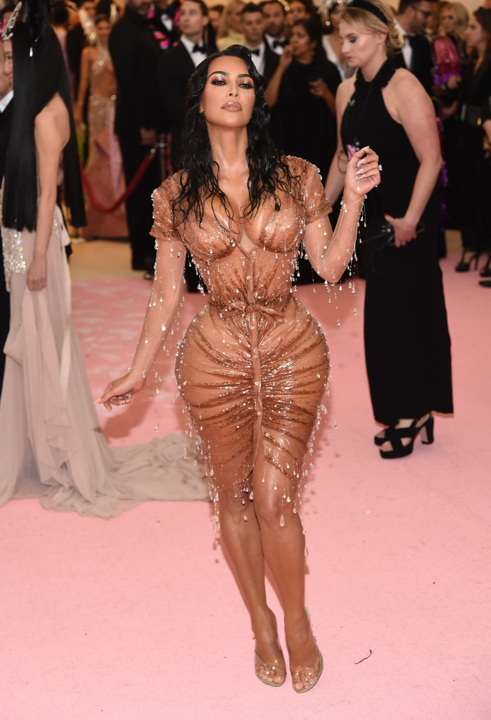 Kim KardashianCostume Institute Benefit celebrating the opening of Camp: Notes on Fashion, Arrivals, The Metropolitan Museum of Art, New York, USA - 06 May 2019 Wearing Thierry Mugler