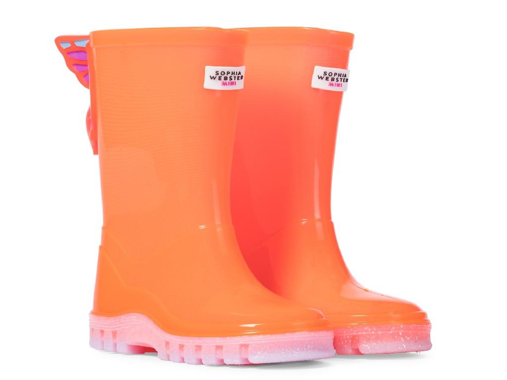 Sophia Webster Mini Butterfly Rain Boot, best kids rain boots
