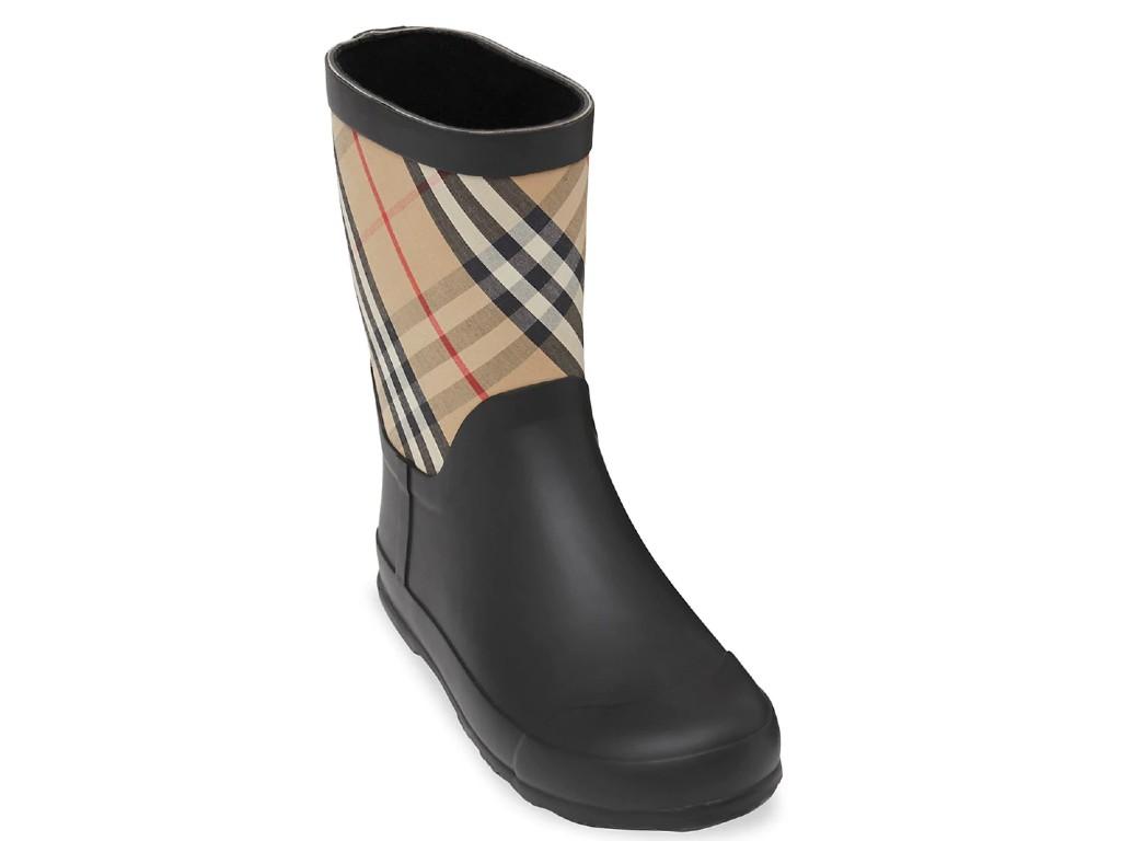 Burberry rain boots, best kids rain boots
