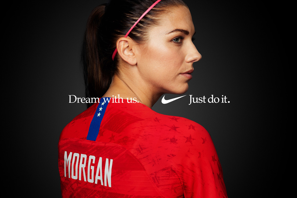 Alex Morgan, US Women's National Soccer Team, Nike ad campaign
