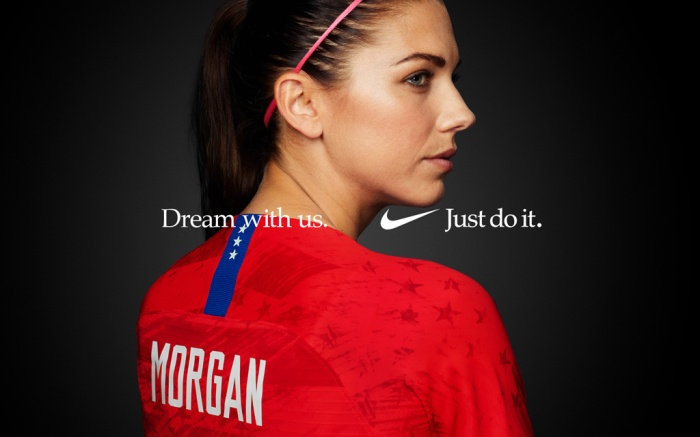 Alex Morgan, US Women's National Soccer Team, Nike ad campaign