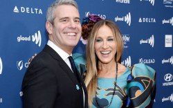 andy cohen, sarah jessica parker, glaad