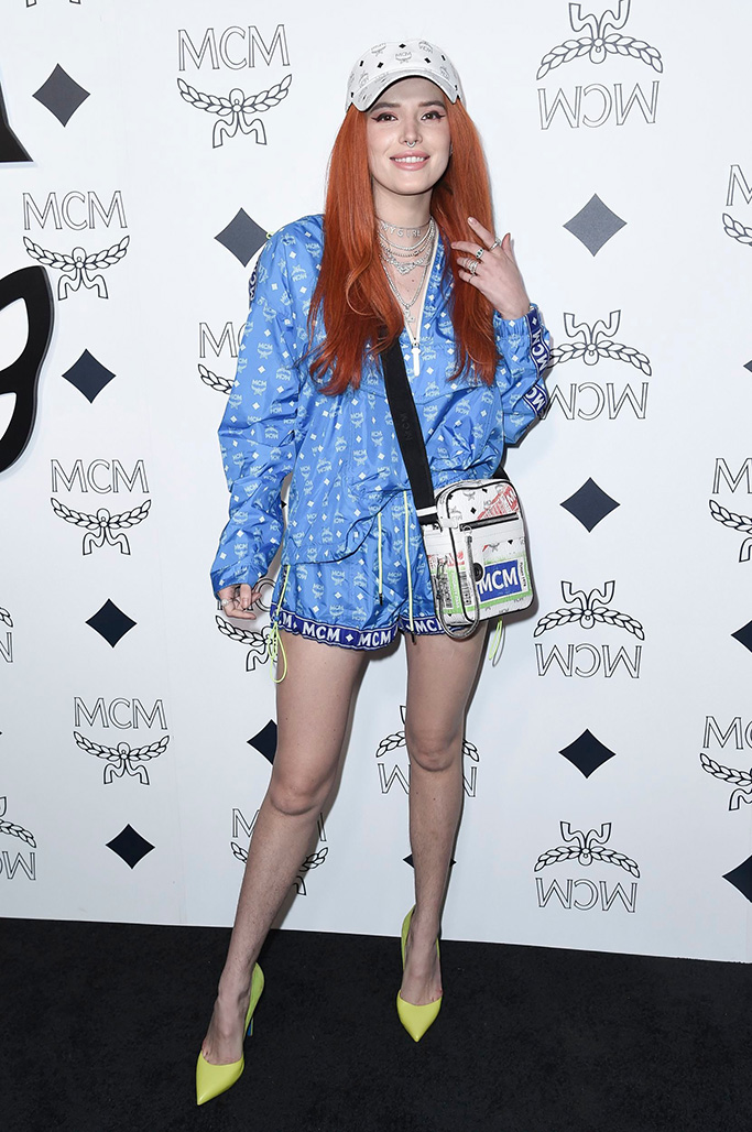 Bella Thorne, attends the MCM Rodeo Drive grand opening, in Beverly Hills, CalifMCM Grand Opening on Rodeo Drive, Beverly Hills, USA - 14 Mar 2019