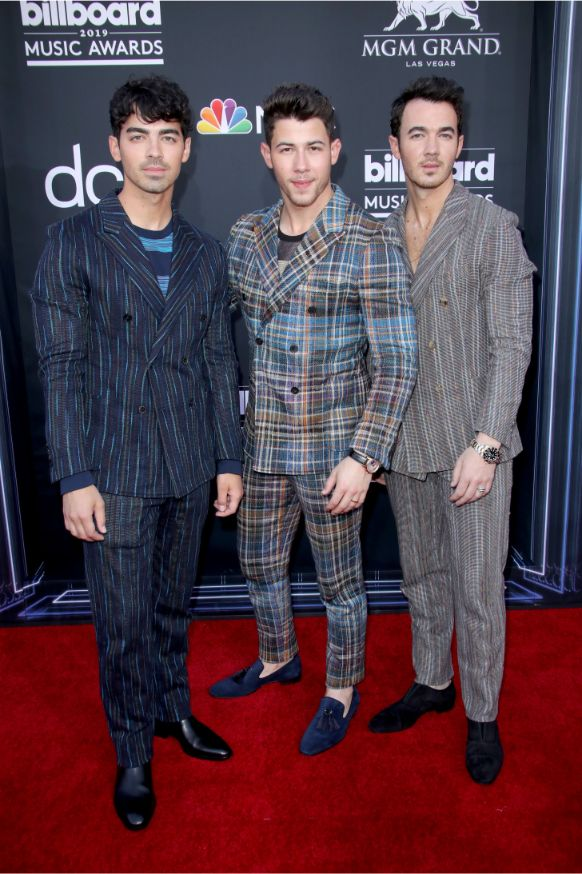 jonas brothers, nick jonas, kevin jonas, joe jonas, billboard music awards 2019, bbmas