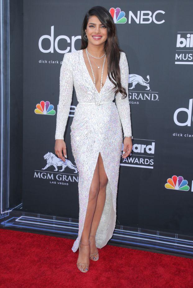priyanka chopra, Billboard Music Awards, Arrivals, MGM Grand Garden Arena, Las Vegas, USA - 01 May 2019, sandals