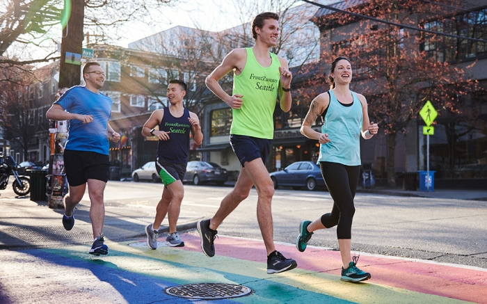 brooks, brooks running company, international front runners, lgbtq, pride, gay inclusion