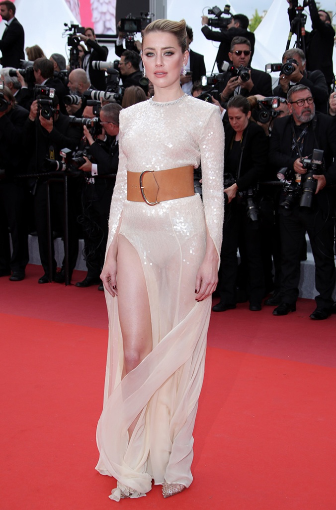 Amber Heard'Les Miserables' premiere, 72nd Cannes Film Festival, France - 15 May 2019Wearing Claes Iversen