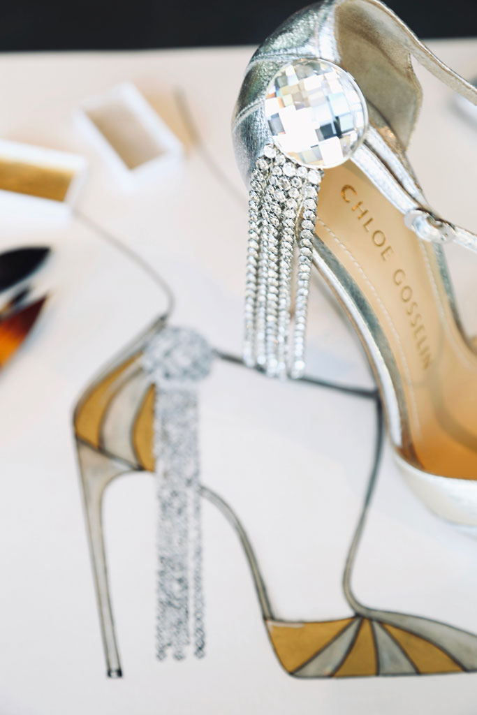 Chloe Gosselin, celine dion shoes, 2019 met gala