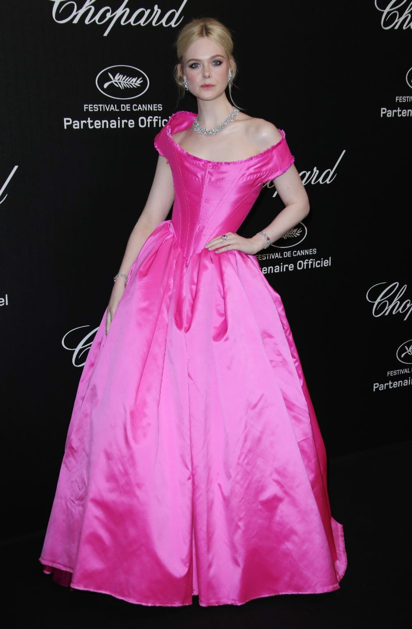 elle fanning, chopard party, cannes, cannes film festival