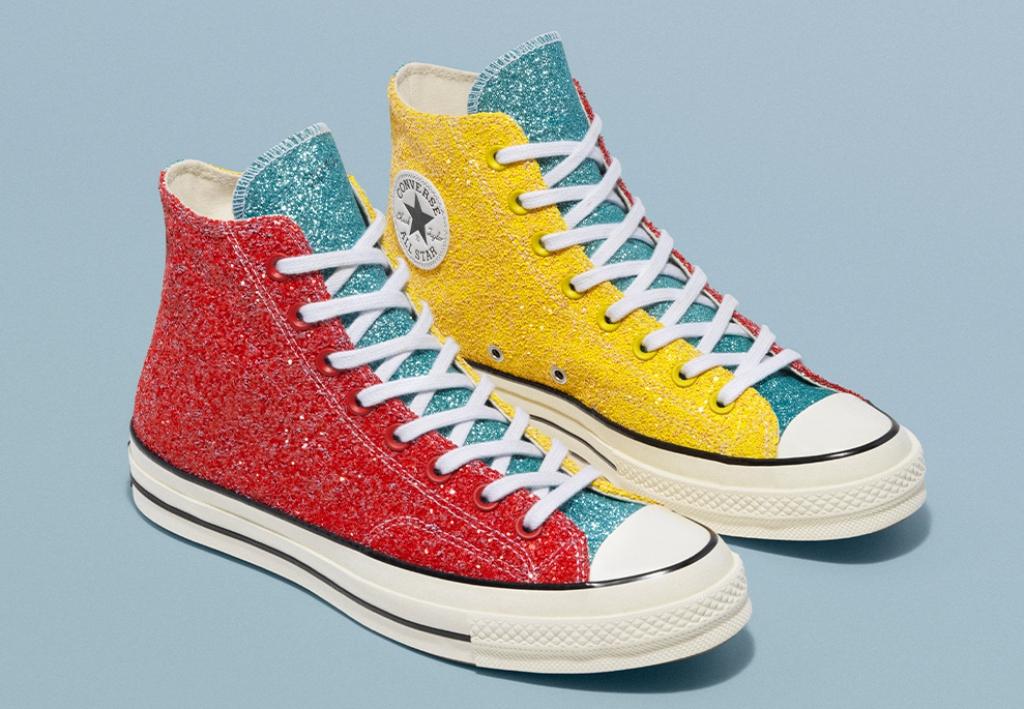 JW Anderson x Converse Chuck 70 glitter
