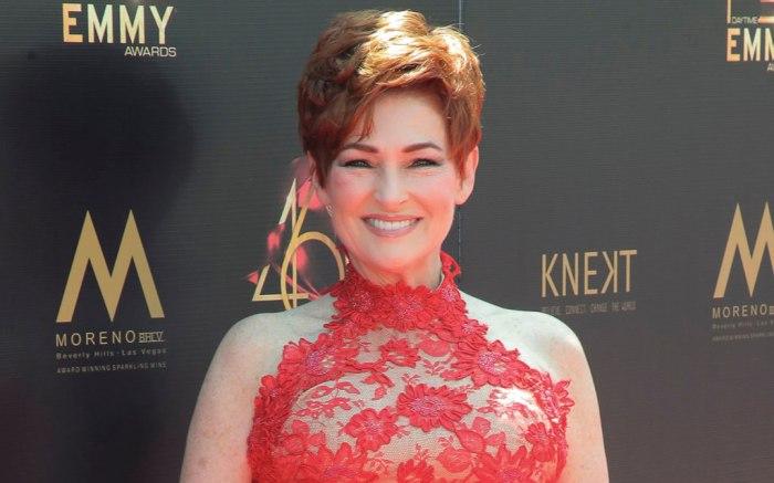 Daytime Emmys, Carolyn Hennesy, celebrity style, red carpet