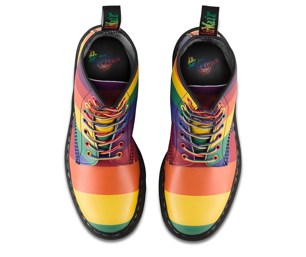 dr martens, doc martens, pride boot, 2019, rainbow shoes, lgbtq
