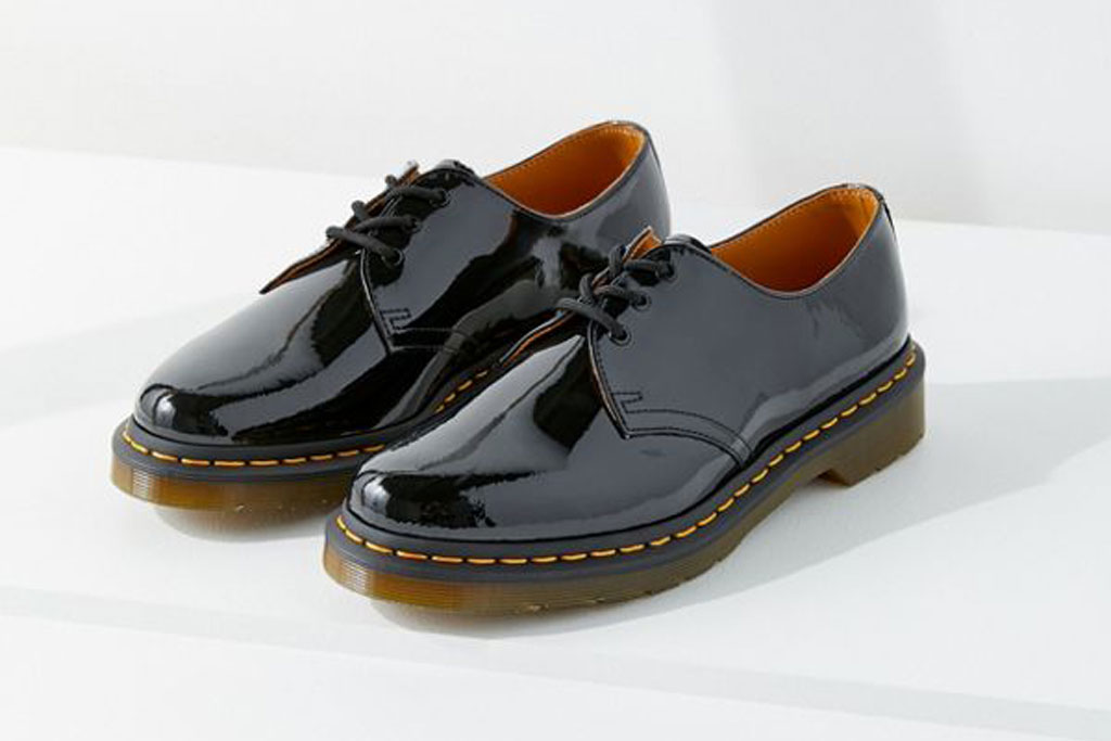 Dr. Martens patent leather oxfords