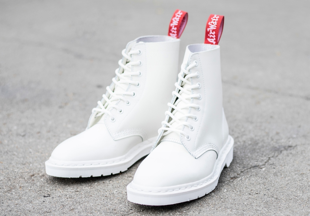 Dr. Martens x Undercover 1460 boots in white