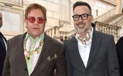 Elton John at the Gucci Resort