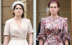 Princess eugenie, beatrice, celebrity style, buckingham