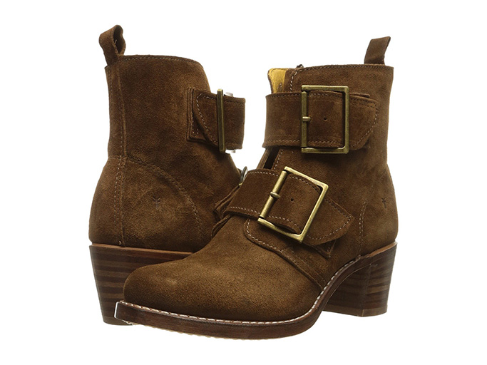Frye Sabrina Double Buckle Boot