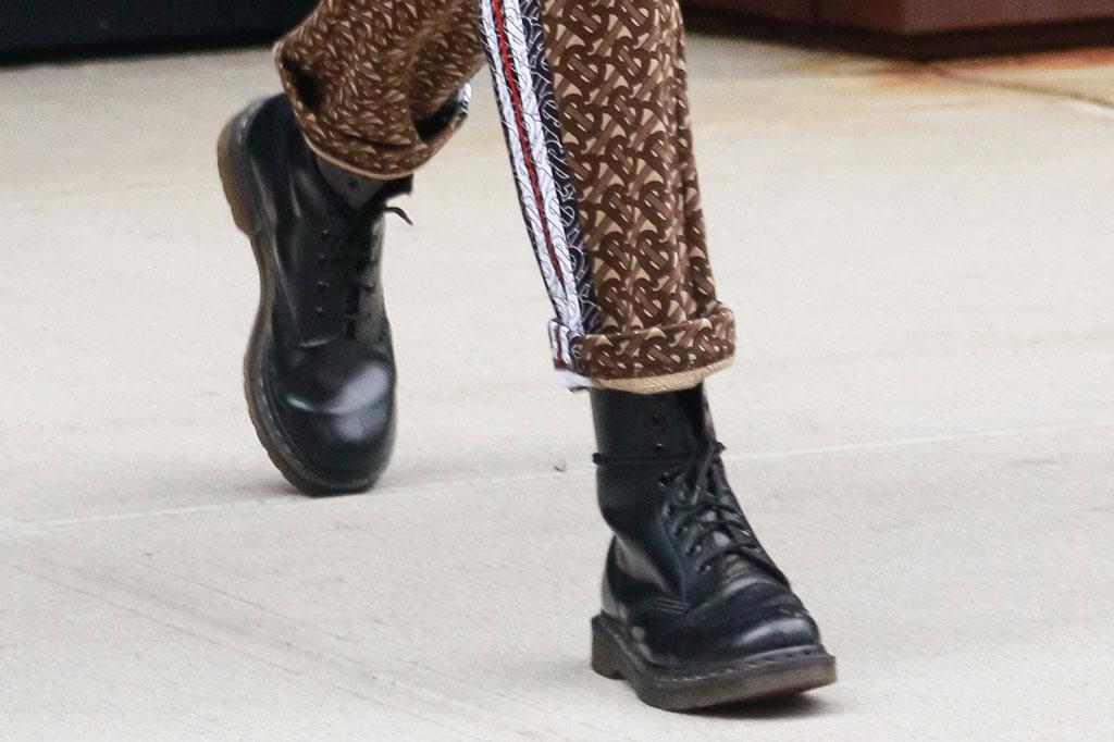 gigi hadid, dr. martens boots, celebrity style