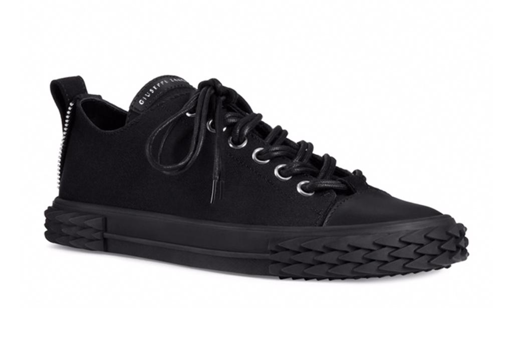 Giuseppe Zanotti x Rae Sremmurd, giuseppe zanotti, the blabber, sneakers, black sneaker