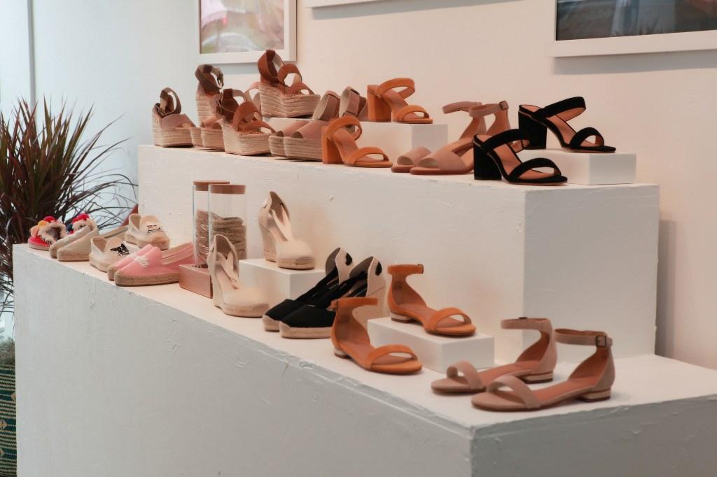 Soludos LA Store Display