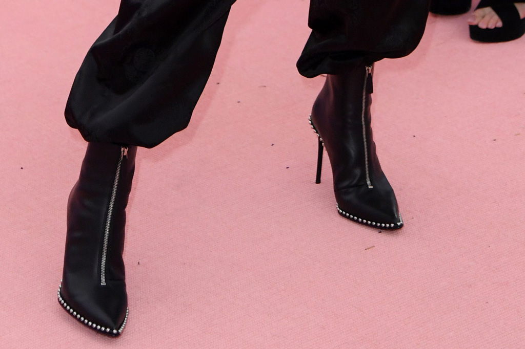 james charles, alexander wang boots, met gala, celebrity style,