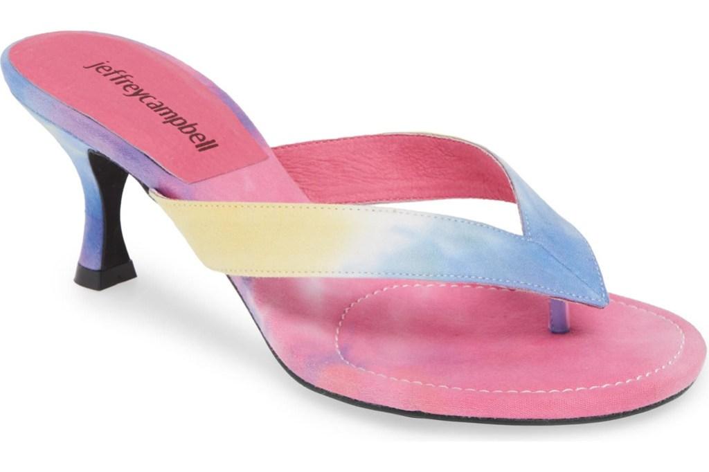 Jeffery Campbell One Slide Sandal, Flip Flop Heels, Thong Heels, Summer 2019 Trends