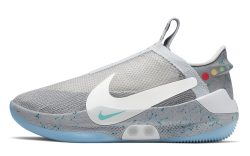 Nike Adapt BB 'Wolf Gray' Lateral