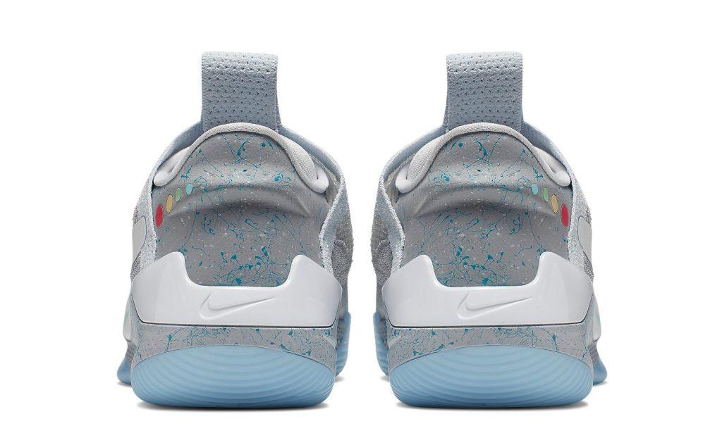 Nike Adapt BB 'Wolf Gray' Heel
