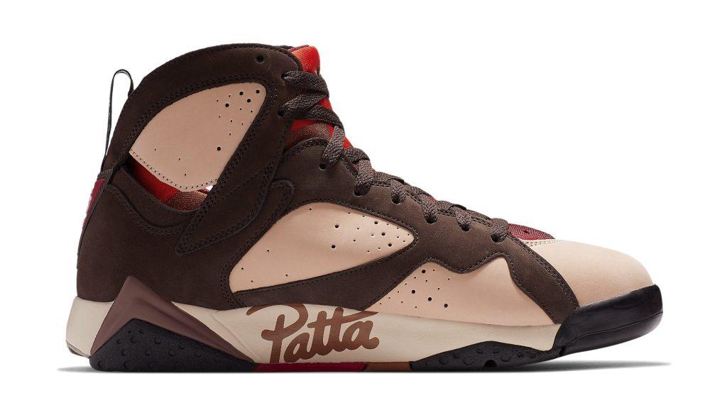 Patta x Air Jordan 7 Medial