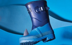 Joules Shark Kid Rainboot SOTW