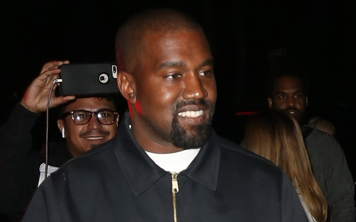Kanye West, met gala 2019 after party