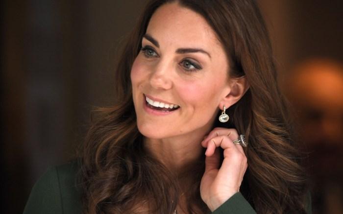 Kate Middleton, Kiki McDonough earrings