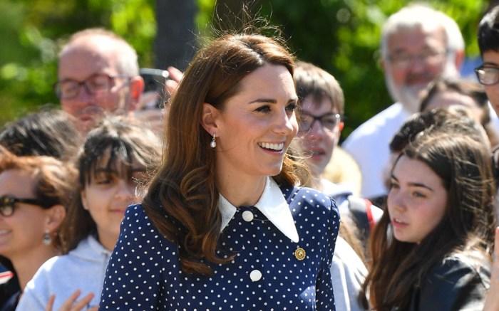 Alessandra Rich dress, kate middleton, duchess of cambridge, Alessandra Rich, polka dots